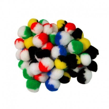 Pampon bicolor,1-5cm,100buc/set