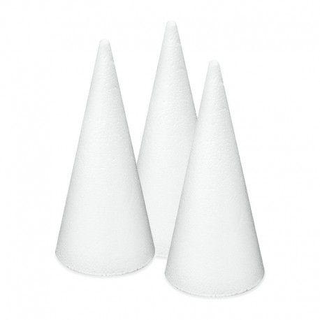 Figurina polystiren,20cm,2buc/set,con
