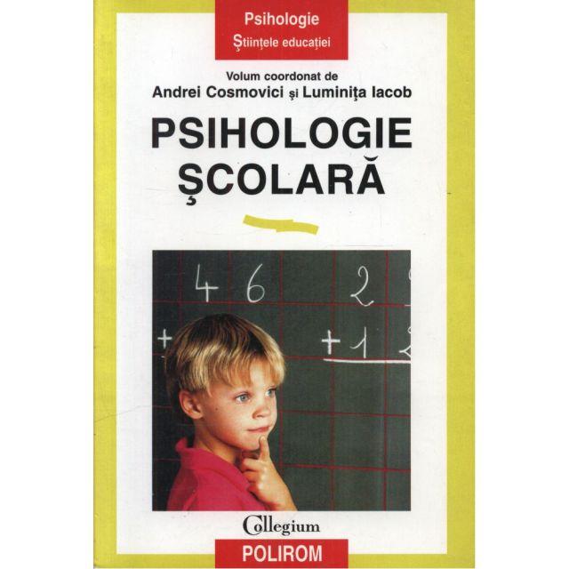 PSIHOLOGIA SCOLARA .