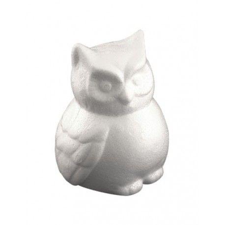 Figurina polystiren,13cm,bufnita