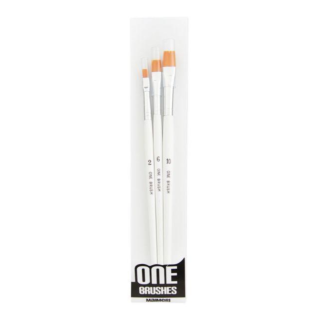 Pensula par sintetic,One,nr.2,4,6,late