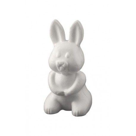 Figurina polystiren,24cm,iepure
