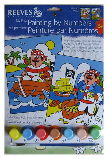 Pictura pe numere,Reeves,basic,Pitates