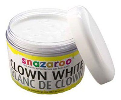 Culori pictura fata,Snazaroo,50ml,Clown white