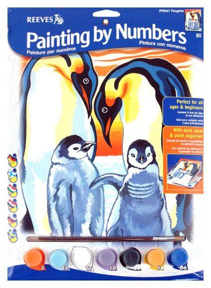 Pictura pe numere,Junior,Penguins