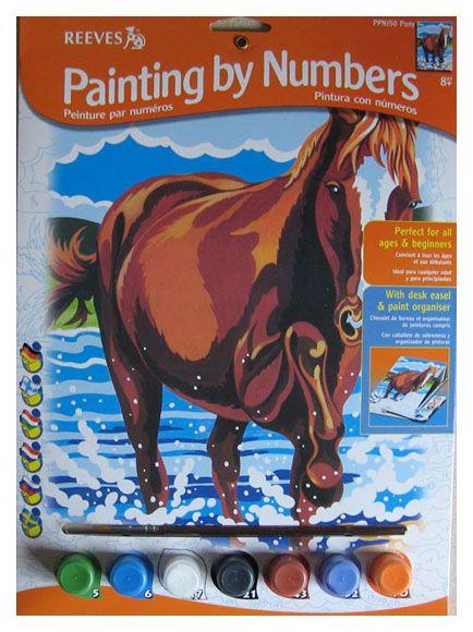 Pictura pe numere,Junior,Pony