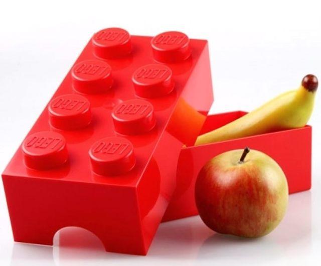 Lego-Cutie sandwich,Lego,2X4,rosu