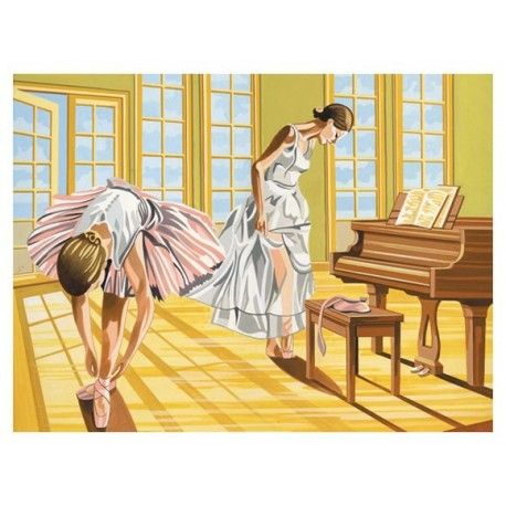 Pictura pe numere,Reeves,senior,Ballerinas