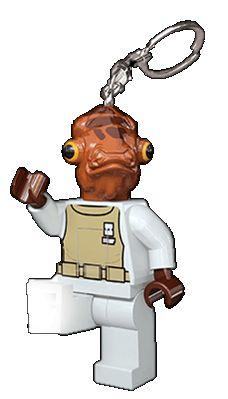 Lego-Breloc Admiral Ackbar,cu...