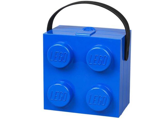 Lego-Cutie sandwich,2x2,albastra