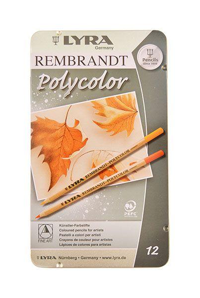 Creion colorat Polycolor,Lyra,12buc/set