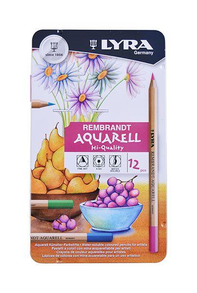 Creion colorat Aquarell,Lyra,12buc/set