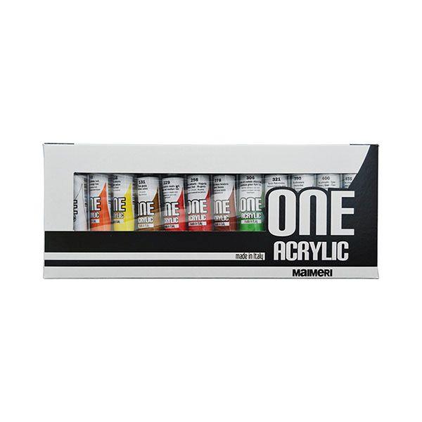 Tub culori acrilice,Maimeri,20ml,12cul/set