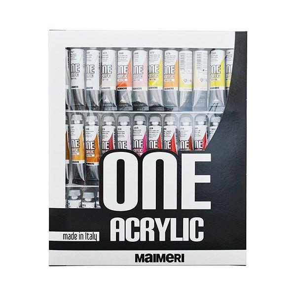 Tub culori acrilice,Maimeri,20ml,36cul/set