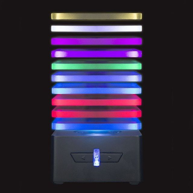 Boxa portabila 'EQ' cu leduri Sincronizate, bluetooth