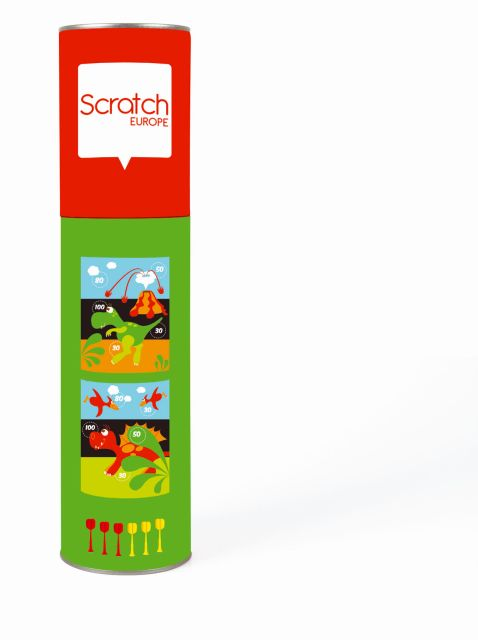Dartz magnetic,dinosauri,Scratch
