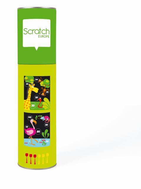 Dartz magnetic,zoo,Scratch