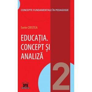 EDUCATIA.CONCEPT SI ANALIZA