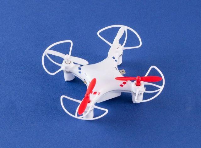 Micro Drona Quad V2, Alba