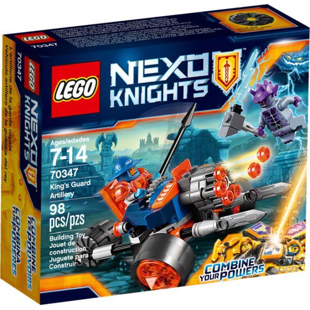 Lego-Nexo Knights,Artileria...