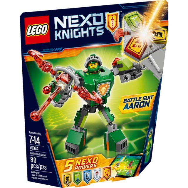 Lego-Nexo Knights,Aaron,costum...