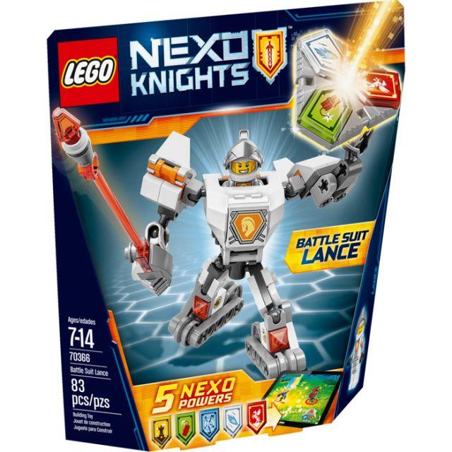 Lego-Nexo Knights,Lance,costum...