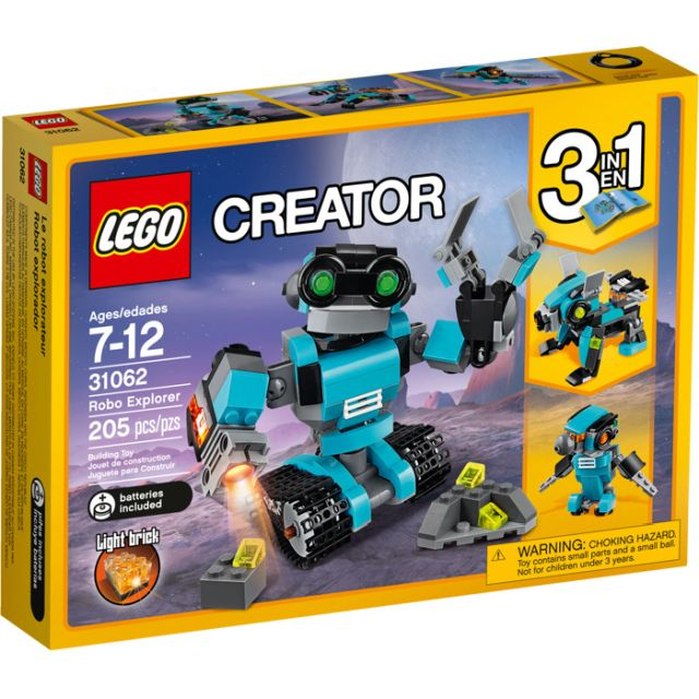 Lego-Creator,Robot explorator