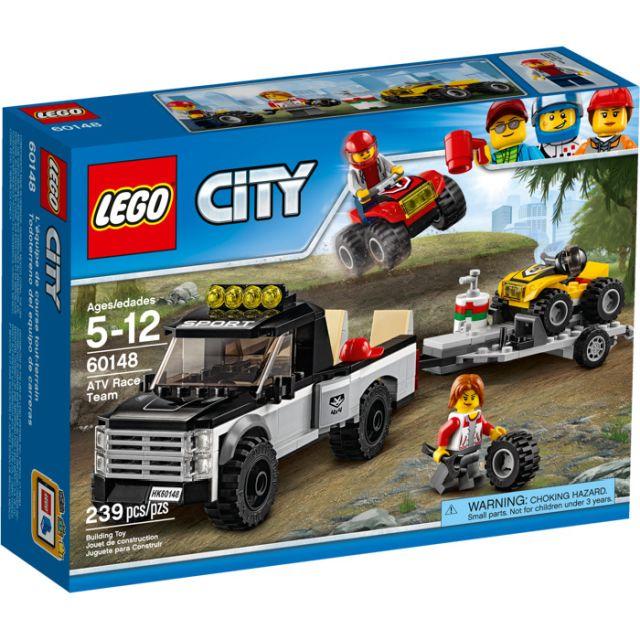 Lego-City,Echipa de curse pe ATV