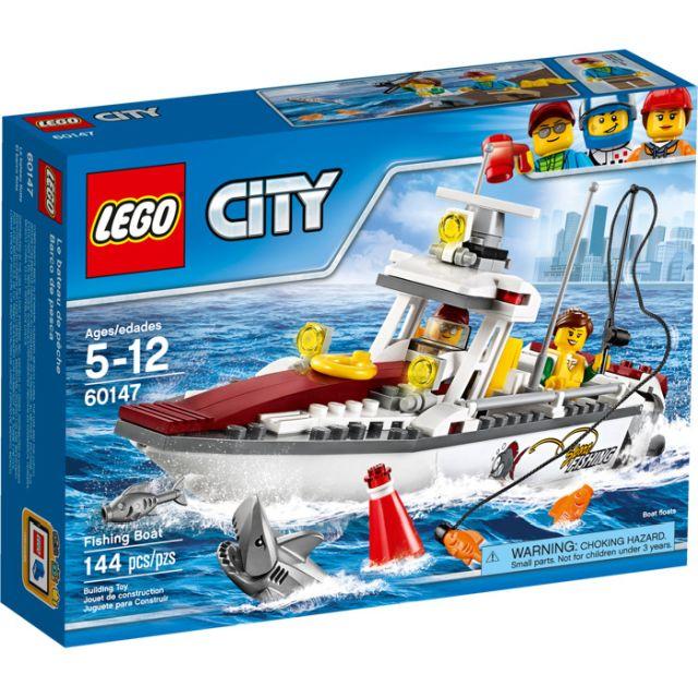 Lego-City,Barca de pescuit