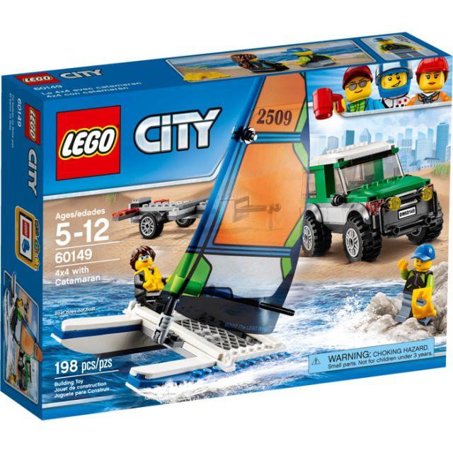 Lego-City,Masina 4x4 si...