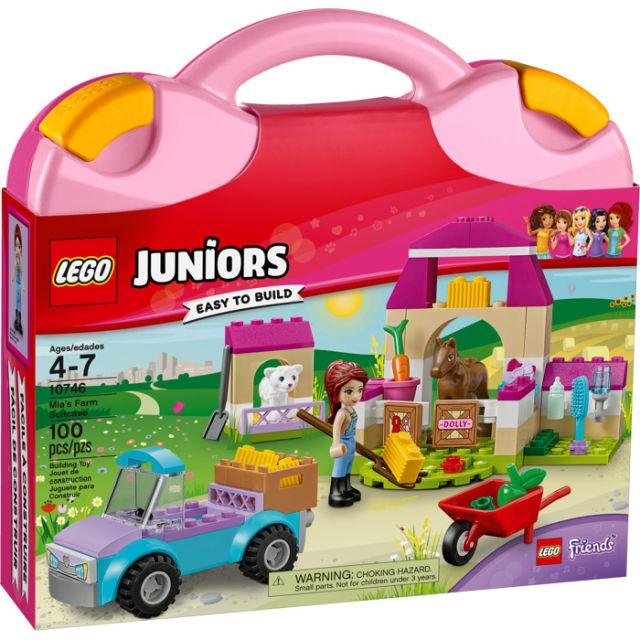 Lego-Juniors,Ferma Miei,valiza