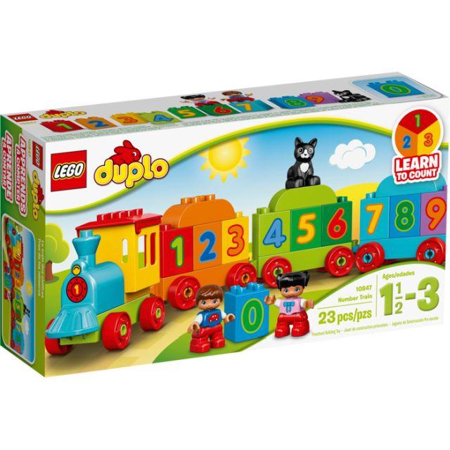 Lego-Duplo,Trenul cu numere