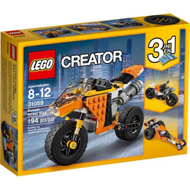 Lego-Creator,Motocicleta de oras