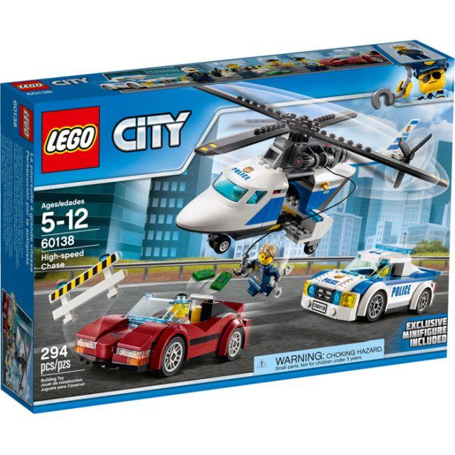Lego-City,Urmarire de mare viteza