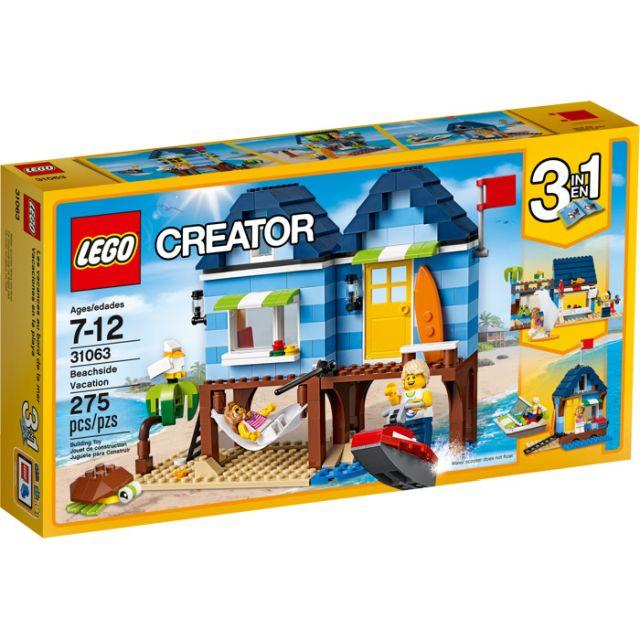 Lego-Creator,Casa de pe plaja