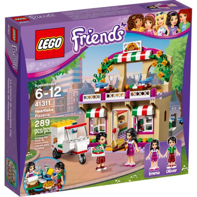 Lego-Friends,Pizzeria Heartlake