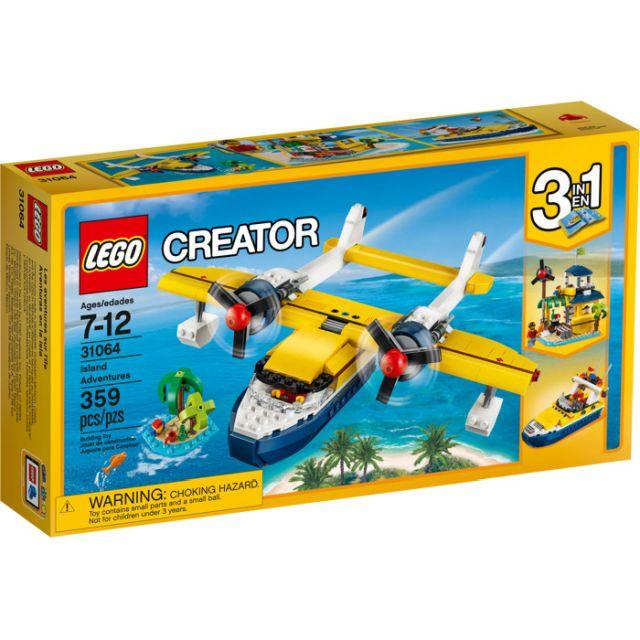 Lego-Creator,Aventuri pe insula