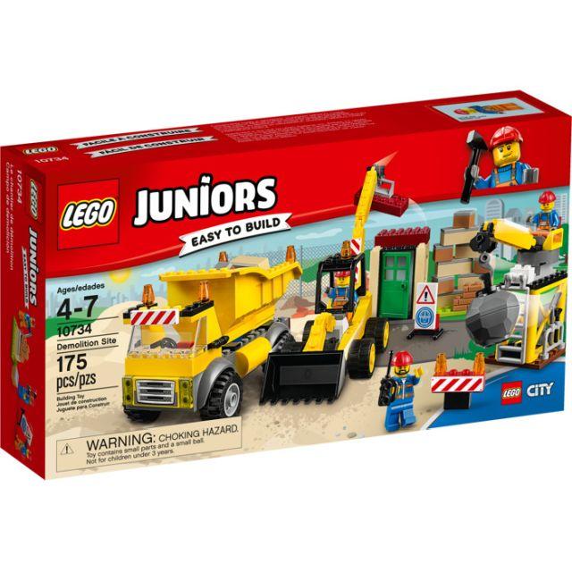Lego-Juniors,Santier de demolari