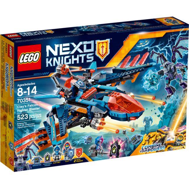 Lego-Nexo Knights,Avionul...