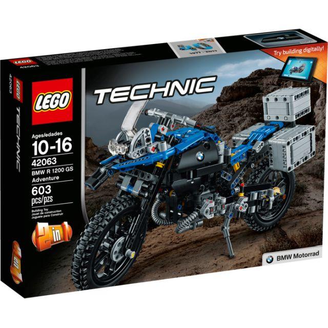 Lego-Technic,BMW R1200 GS...