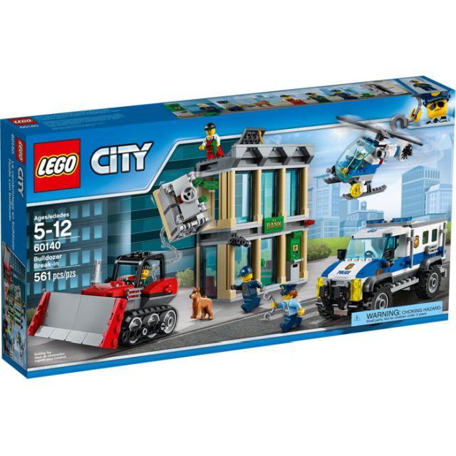 Lego-City,Spargere cu buldozerul