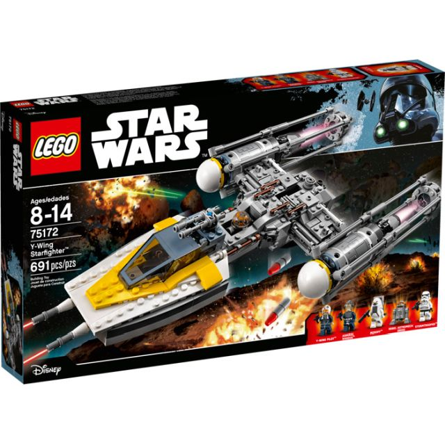 Lego-Star Wars,Y-Wing Starfighter