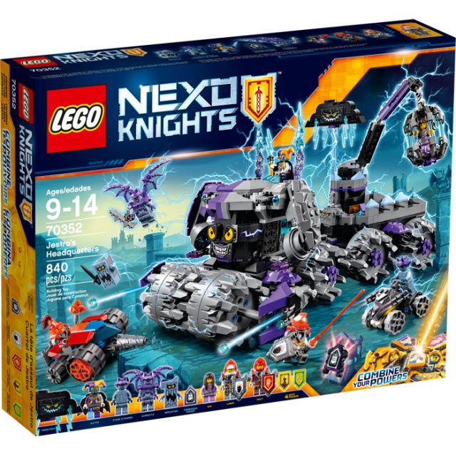 Lego-Nexo Knights,Sediul...
