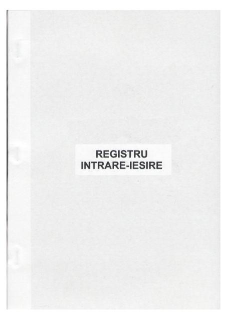 Registru intrare-iesire,cartonat