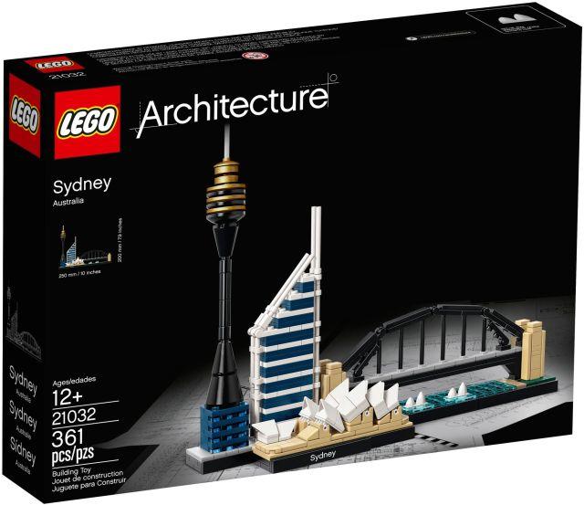 Lego-Arhitecture,Sydney