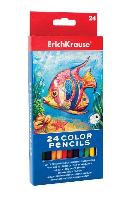 Creioane colorate,24/set,ErichKrause