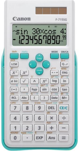 Calculator birou Canon stiintific F-715SG,16digiti
