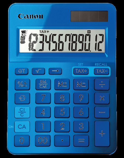 Calculator birou Canon LS-123,blue,12digiti