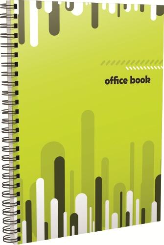 Caiet cu spira, A5, Trendy Office, 70 file, dictando