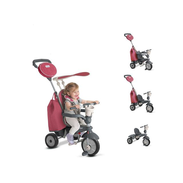 Smart Trike Voyager,5in1,rosu